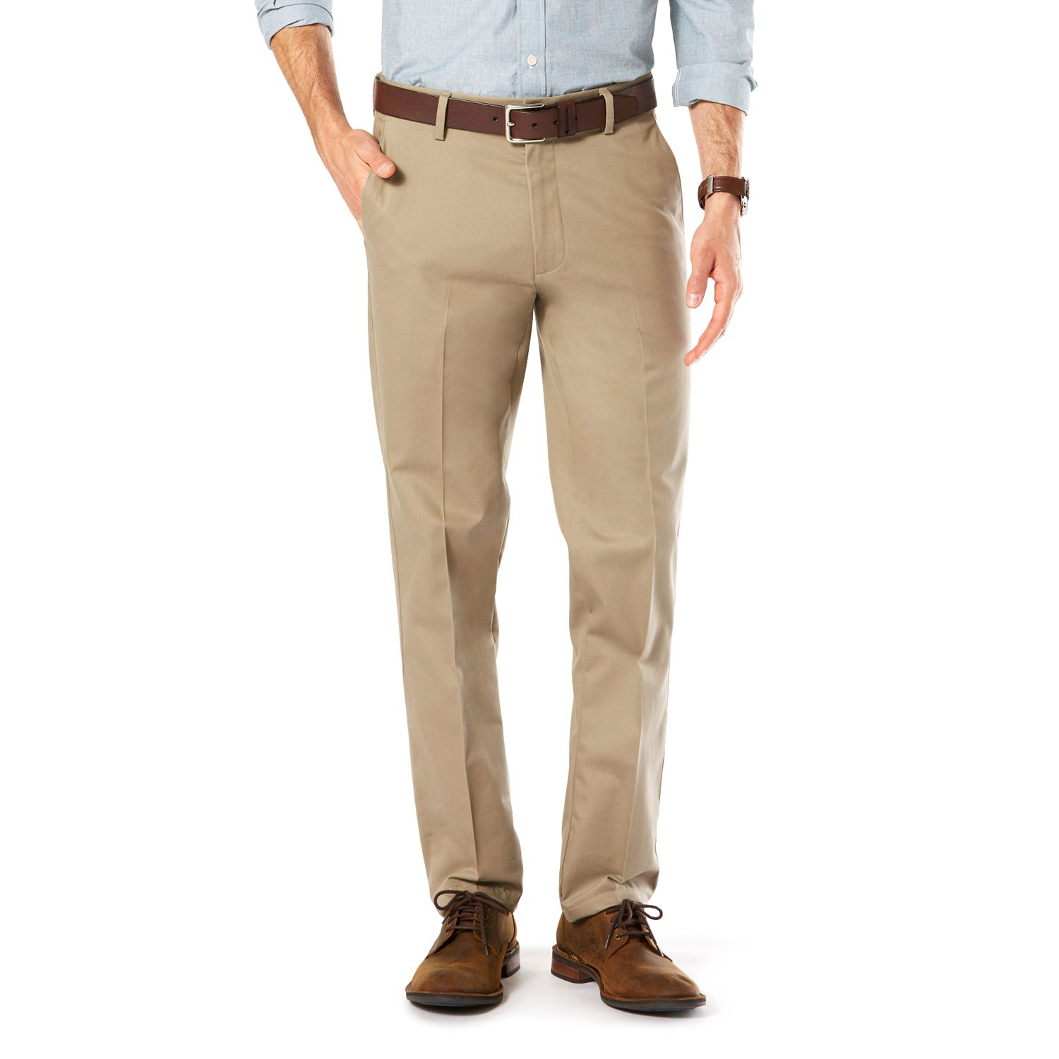 Khaki Slim Fit Pants TjnE7cG1